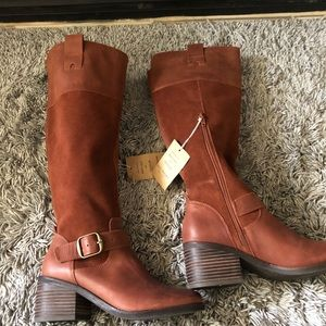 Lucky Brand Shoes - Lucky brand new with tags brown leather boots